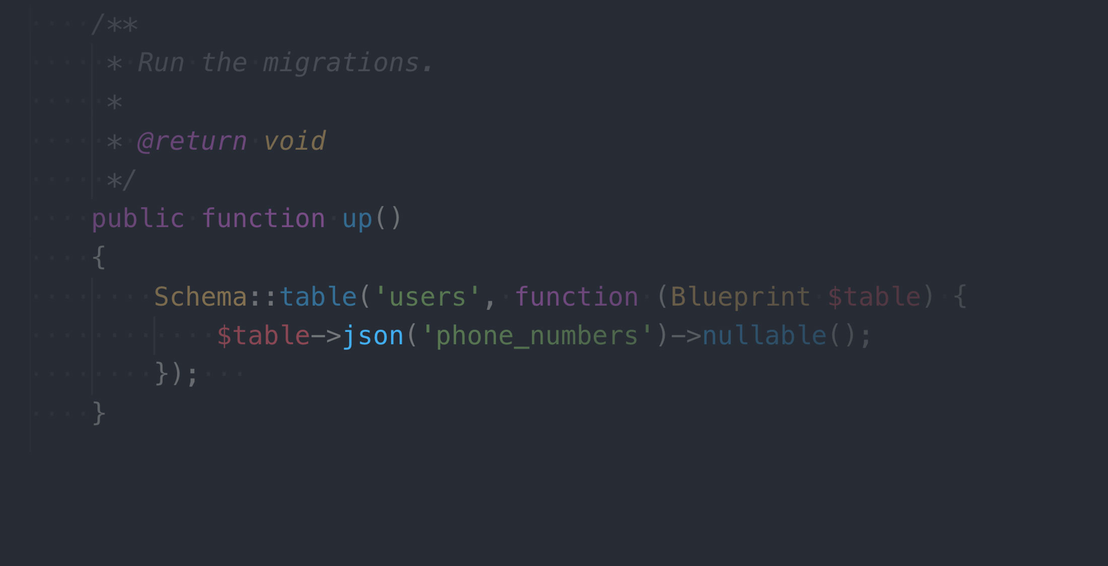 Diving deeper with Laravel JSON column types | nullthoughts